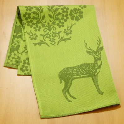 Reindeer Jacquard Kitchen Towel