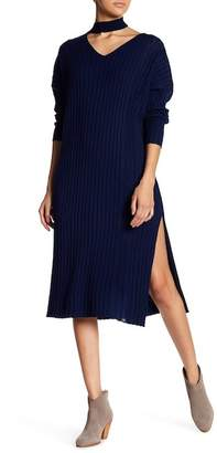 Few Moda Choker Neck Sweater Dress