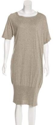 Zero Maria Cornejo Short Sleeve Sweater Dress