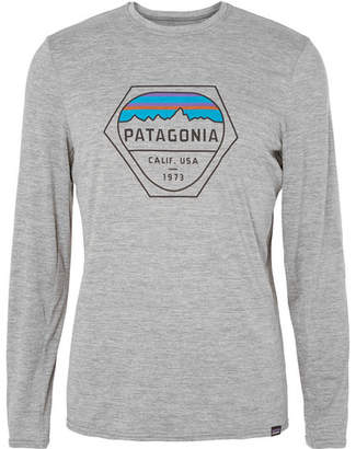 Patagonia Printed Mélange Capilene Jersey T-Shirt