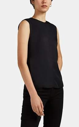 Helmut Lang Women's Crepe Open-Back Top - Black