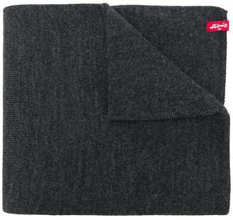 Levi's ribbed knit scarf