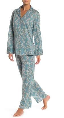 Natori Printed Pajama Set