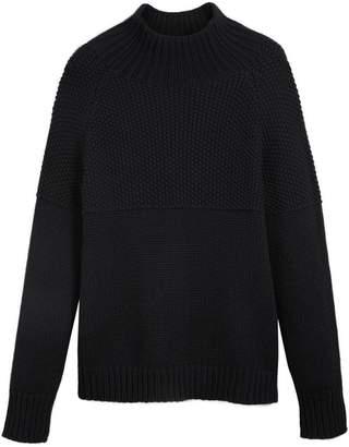 Burberry cashmere fisherman sweater