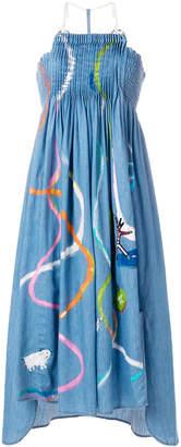 Tsumori Chisato sleeveless denim dress