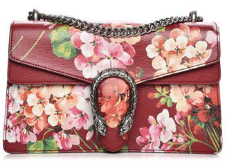 Gucci Dionysus Shoulder Bag Blooms Small Cerise Red/Green/Pink