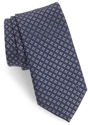 Salvatore Ferragamo Empol Geometric Silk Tie