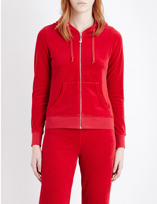 Juicy Couture Robertson velour hoody $158 thestylecure.com