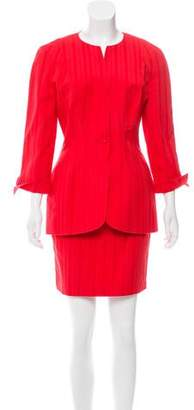 Thierry Mugler Vintage Knee-Length Skirt Suit