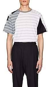 GmbH Men's Mixed-Stripe Cotton T-Shirt