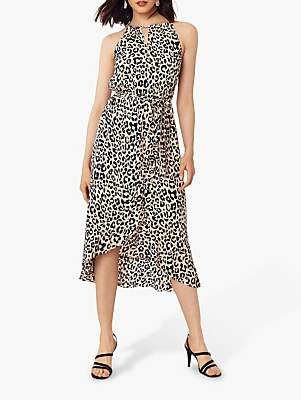 Oasis Leopard Print Midi Dress, Animal