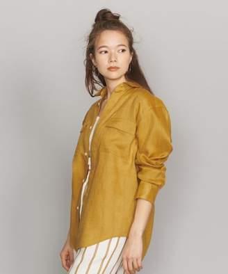 Beauty&youth United Arrows (ビューティー アンド ユース ユナイテッド アローズ) - BEAUTY&YOUTH UNITED ARROWS BY LINIFICIOリネンカラーポケットシャツ