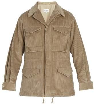 Maison Margiela Corduroy Jacket - Mens - Beige