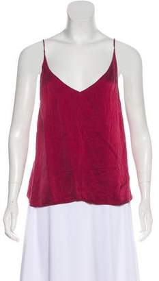 Reformation Silk Sleeveless Top