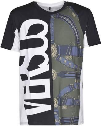 Versace Contrast Logo T-shirt