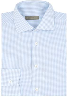 Corneliani Gingham Cotton Shirt