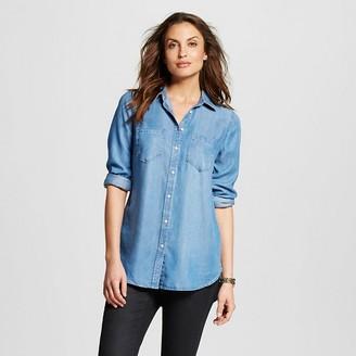 Women's TENCEL® Favorite Tunic - Merona $27.99 thestylecure.com