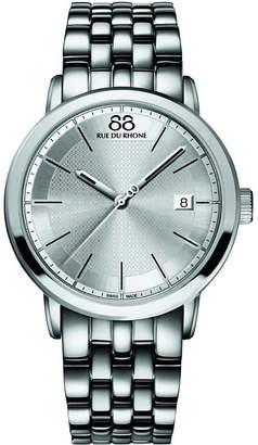 88 Rue du Rhone 87WA130016 stainless steel quartz watch