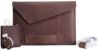 Capra Leather Slant Macbook Pro Retina Leather Case Set