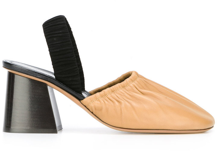 CelineCéline closed toe mules
