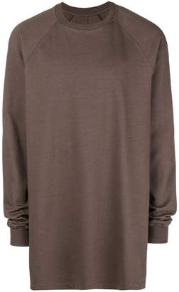 Rick Owens relaxed fit sweatshirt
