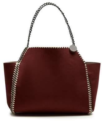 Stella McCartney Falabella reversible faux-suede tote