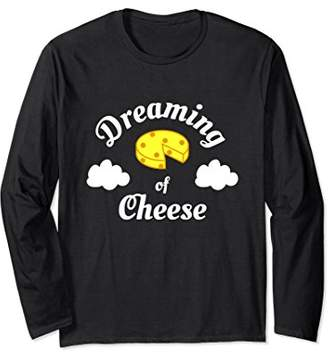 Dreaming of Cheese | Funny Pajama Long Sleeve T-Shirt