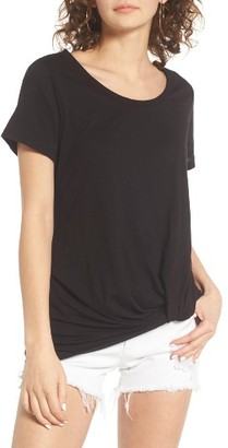 Women's Bp. Twist Front Tee $22 thestylecure.com