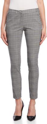 Amanda + Chelsea Grey Plaid Pants