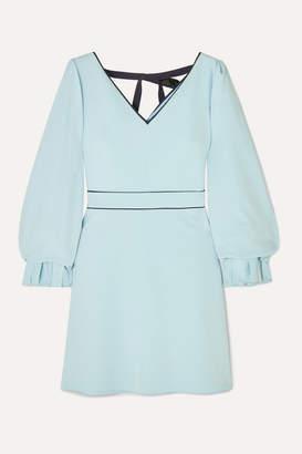 Roksanda Darie Sequin-embellished Gathered Stretch-crepe Dress - Blue