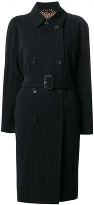 Etro double-breasted midi coat
