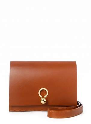 Danielle Foster CHARLIE Box in Tan Leather