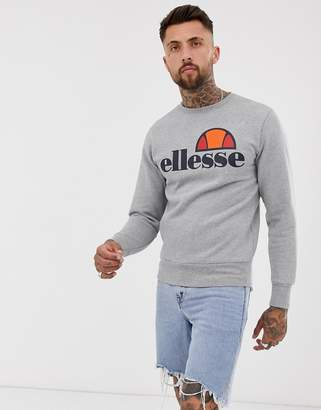 Ellesse sweatshirt with classic logo in gray