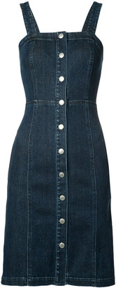 AG Jeans denim button-down dress