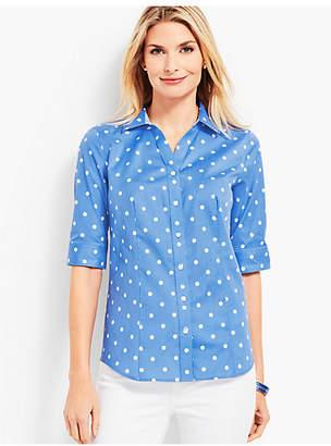 Talbots The Perfect Shirt - Polka Dot