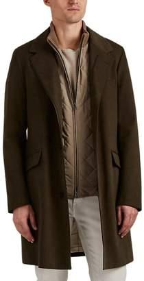 Loro Piana Men's 2-In-1 Topcoat & Vest