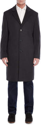 MICHAEL Michael Kors Dark Heather Grey Wool Coat