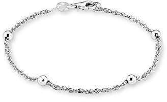 Amor Women's Bracelet 925 Sterling Silver Rhodium-Plated 19 cm – 2016476