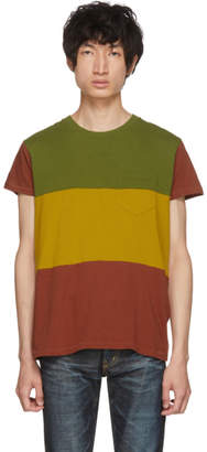 Levi's Clothing Tricolor Three-Way 1950s Sportswear T-Shirt