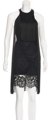 Stella McCartney Lace Fringe Dress