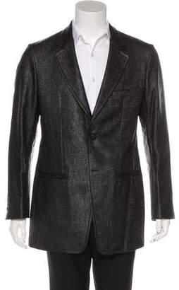Alexander McQueen Coated Knit Sport Coat