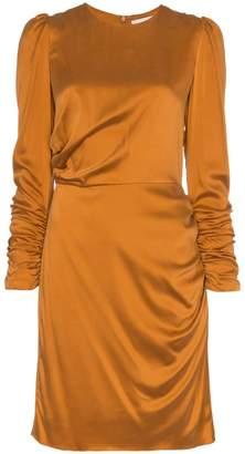 Zimmermann draped silk mini dress