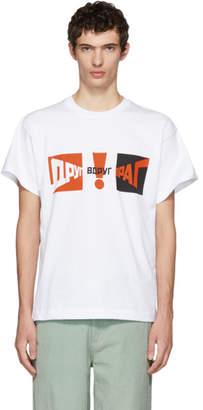 Gosha Rubchinskiy White Graphic T-Shirt