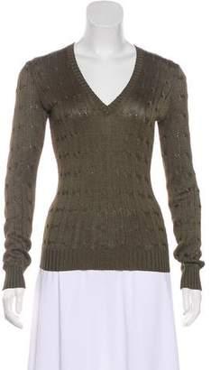 Ralph Lauren Black Label Silk Knit Sweater