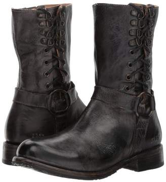 Bed Stu Bedstu Lace-Up-Leather Bootie