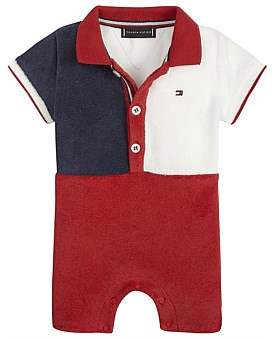 Tommy Hilfiger Baby Boy Flag Polo Shortall S/S(0-3M-1Y)