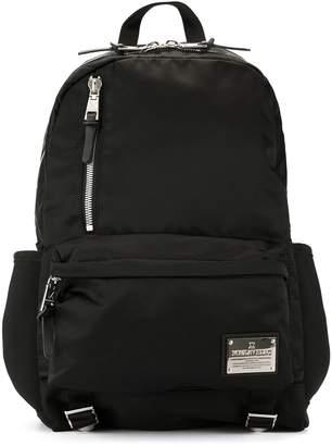 Makavelic shine finish backpack