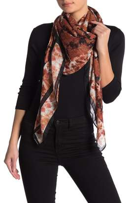 Melrose and Market Patterned Square Scarf
