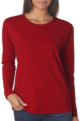 Gildan Women's Fit Preshrunk Tapered Crewneck T-Shirt, XXX-Large