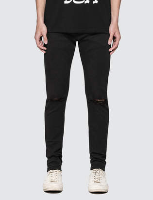 Undercover Zippered Slim Jeans